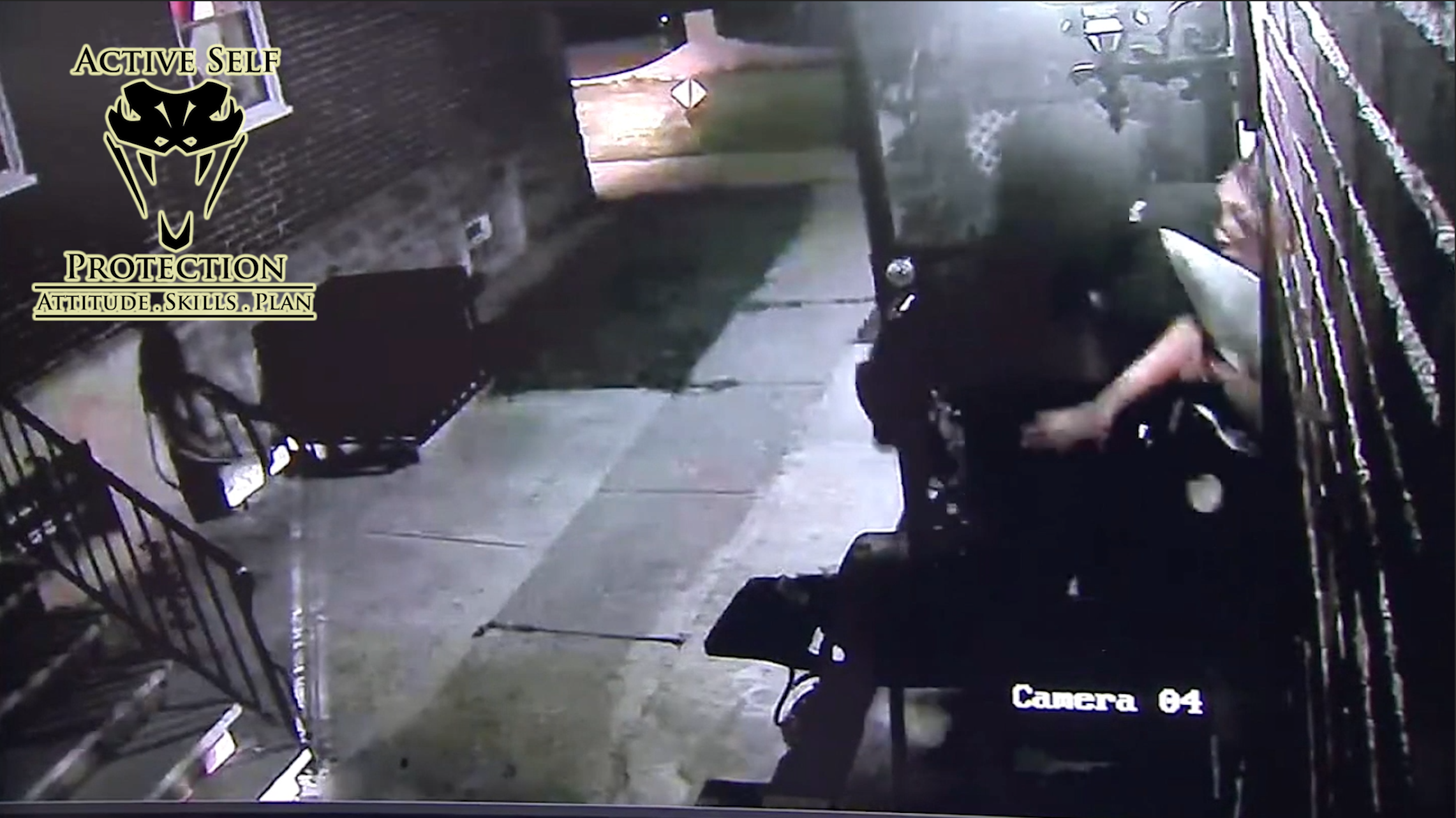 Scary Home Invasion Caught On Camera Active Self Protection