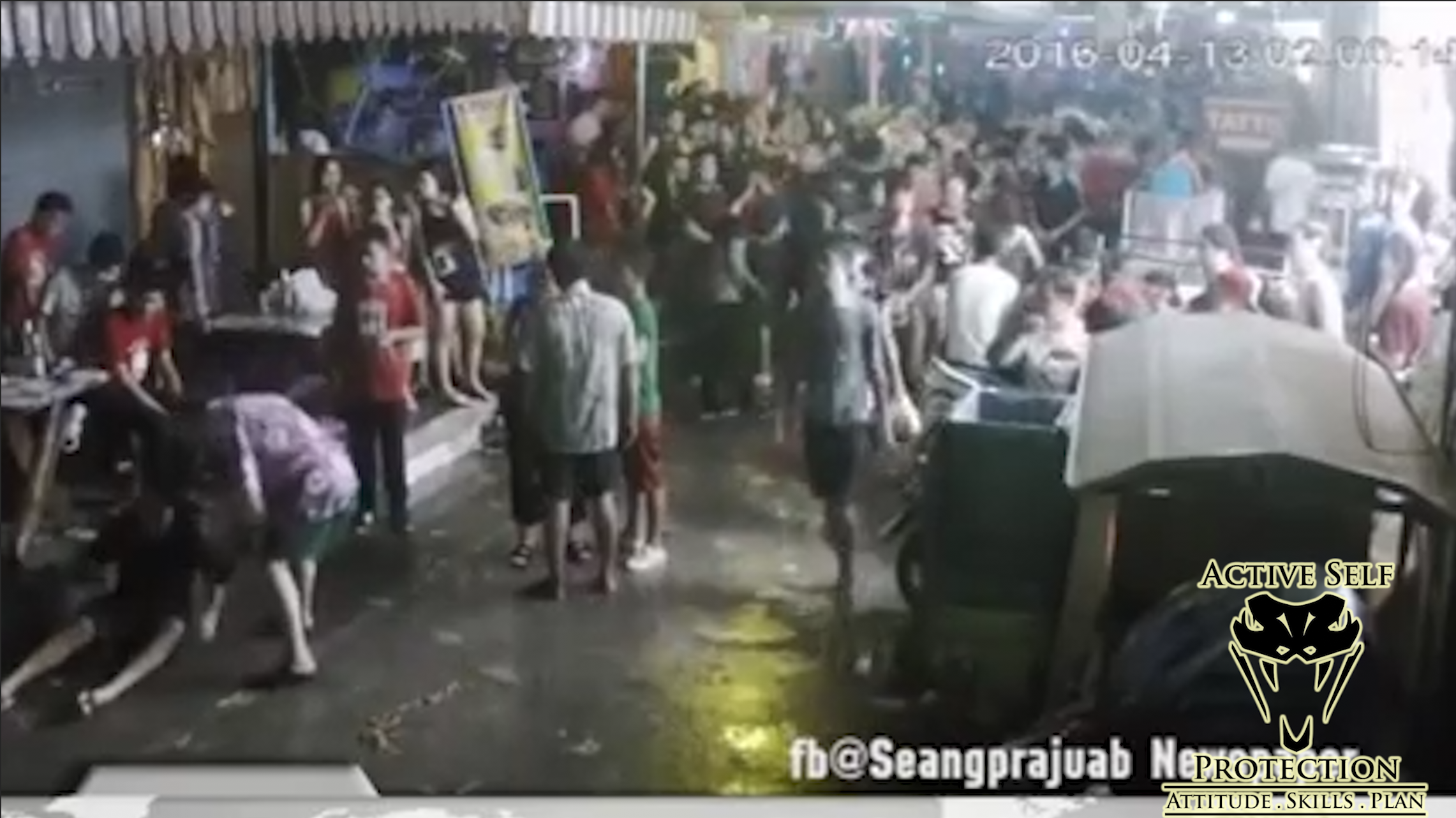 Caught on Camera: Tourists Attacked and Badly Beaten by Locals