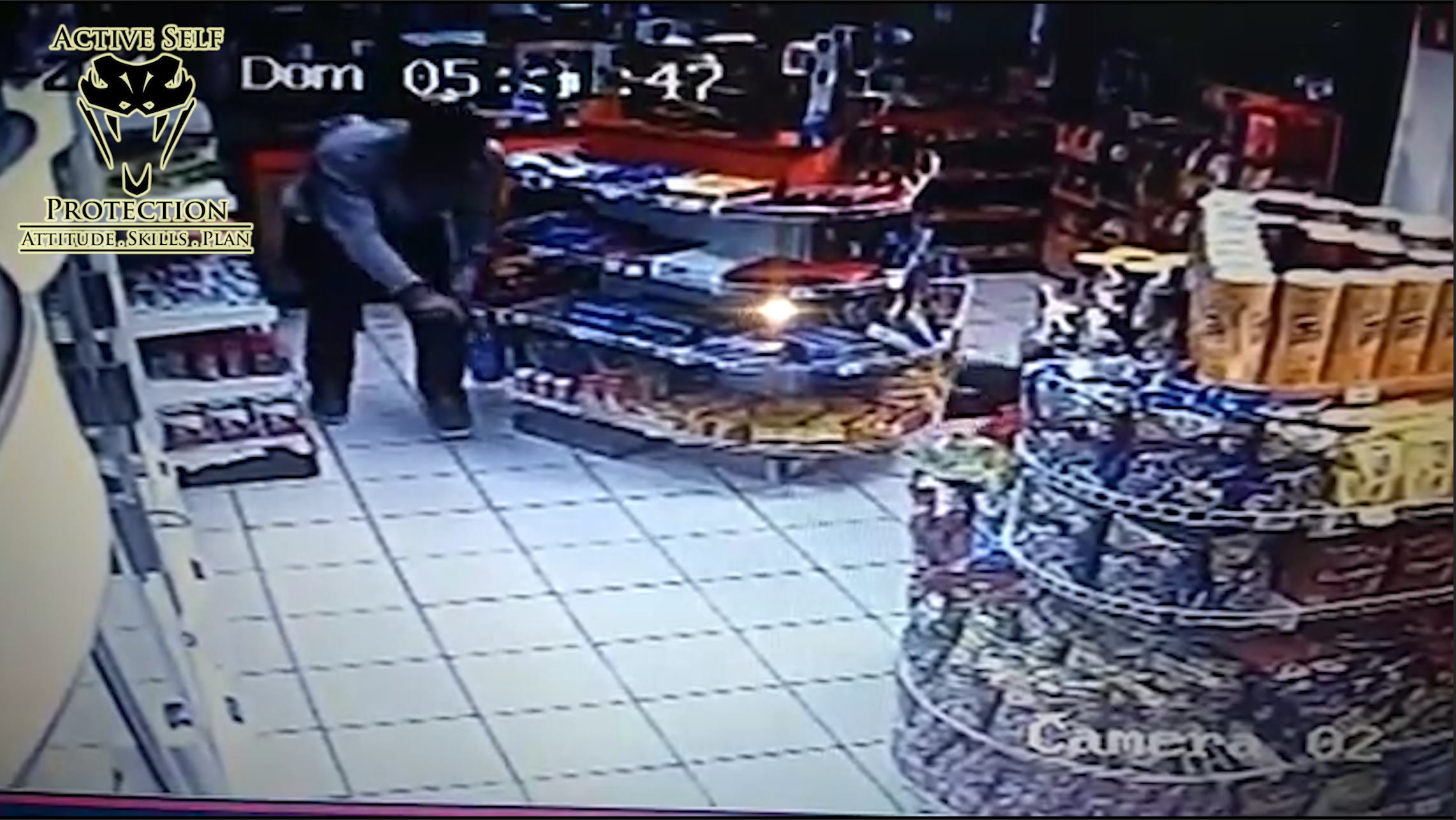 Off Duty Officer Shoots Armed Robber Dead