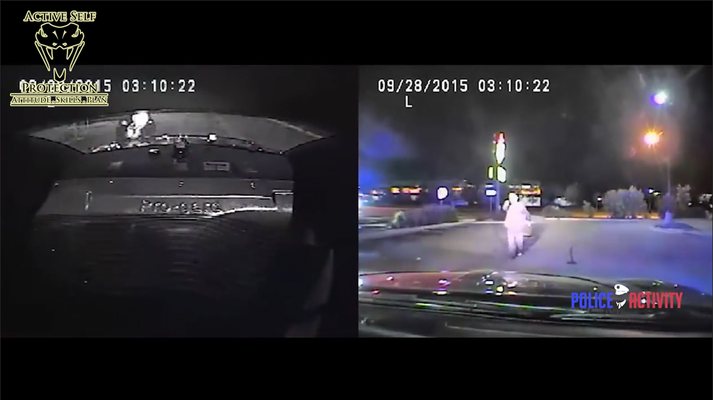 Officer Repeatedly Tries Not to Shoot Man Pointing a Gun at Him