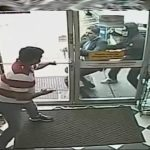 Bystander Won't Let Armed Robbery Victim Inside Store