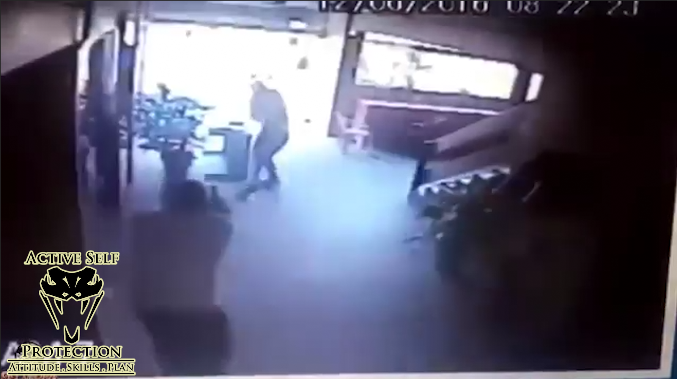 Armed Robbers Counter-Ambushed by Armed Guard