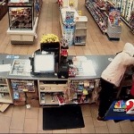 Clerk Fights Off Armed Robber