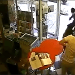Shop Owner Uses Trained Attack Dog to Thwart Armed Robber