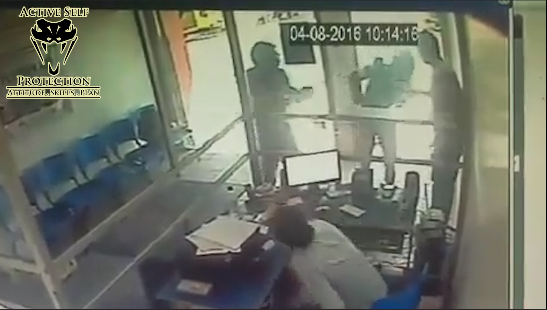 Armed Victim Demonstrates Perfect Armed Robbery Defense