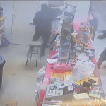 Multiple Armed Robbers Storm Convenience Store