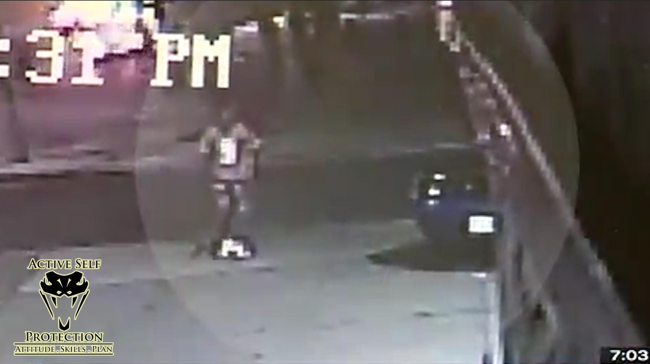 Armed Victim Stops Carjacking