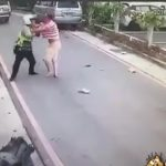 Attack on Officer Caught on Camera