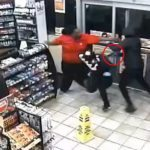 Clerk Fights Off Armed Robbers Who Shot at Him