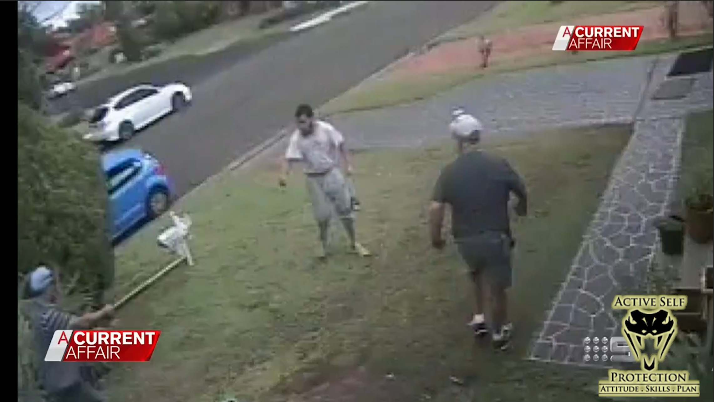 Scary Knife Attack in Australia Caught on Video