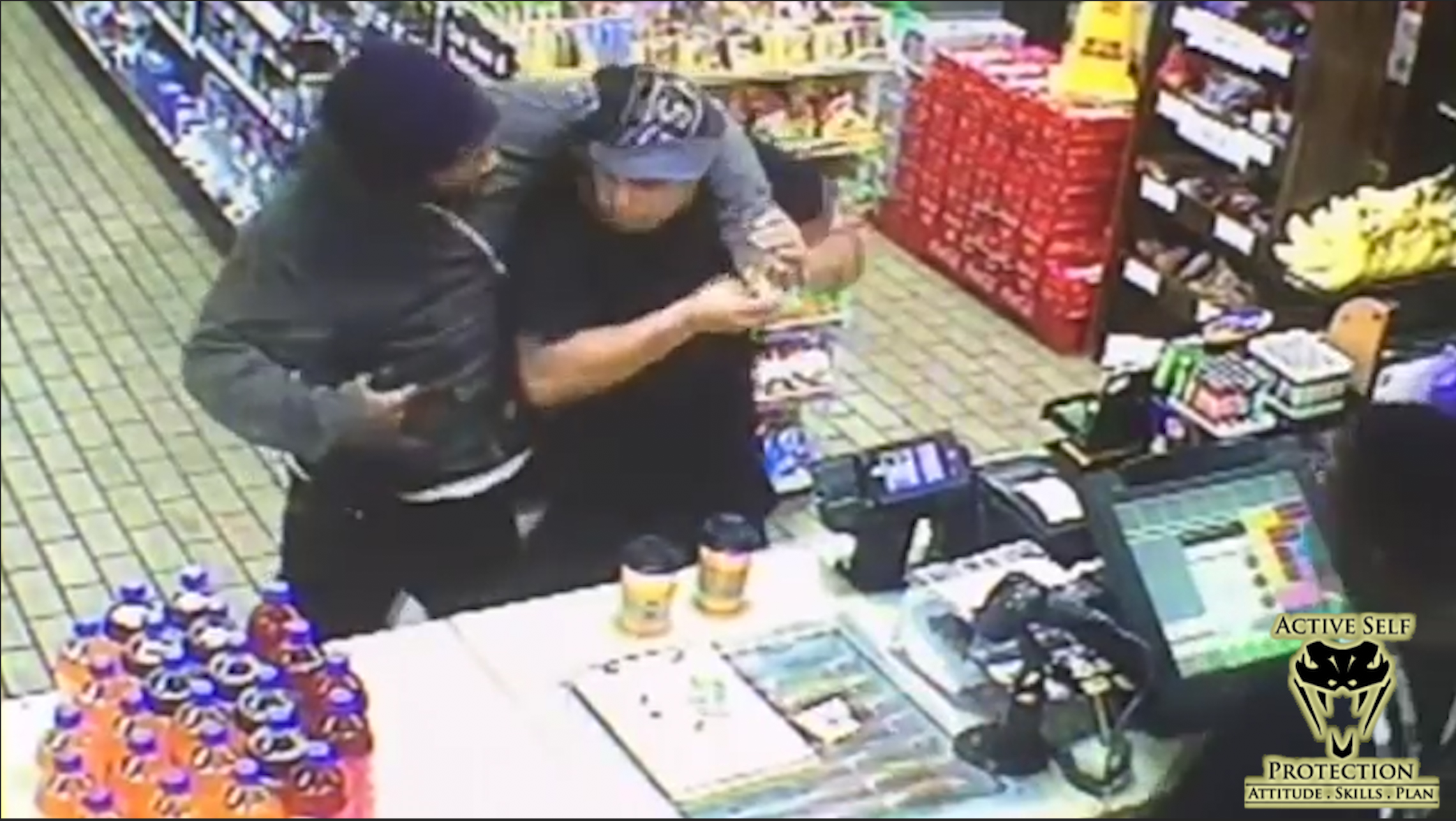Victim Keeps His Cool During an Armed Robbery