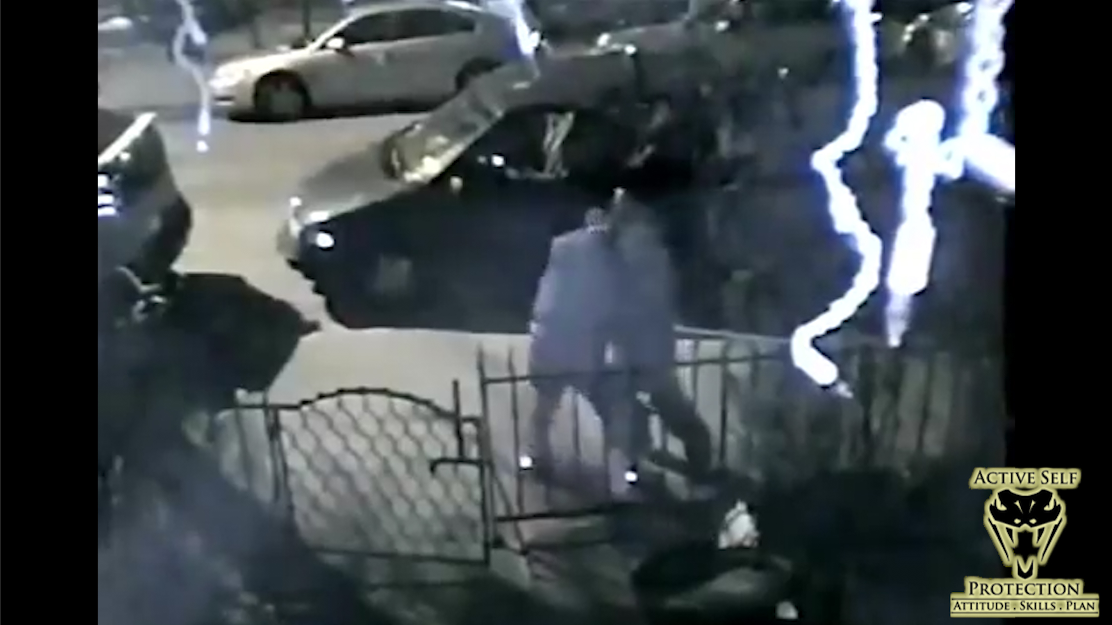 Attempted Assault of Woman Caught on Camera