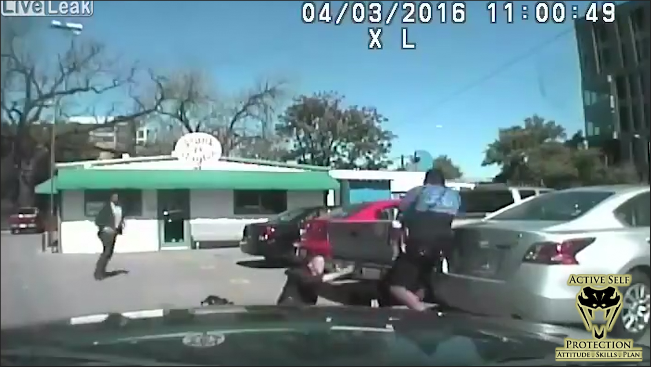 Officer Shoots Suspect Who Pulls Gun on Him