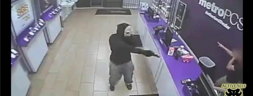 Masked Armed Robber Terrorizes Clerks
