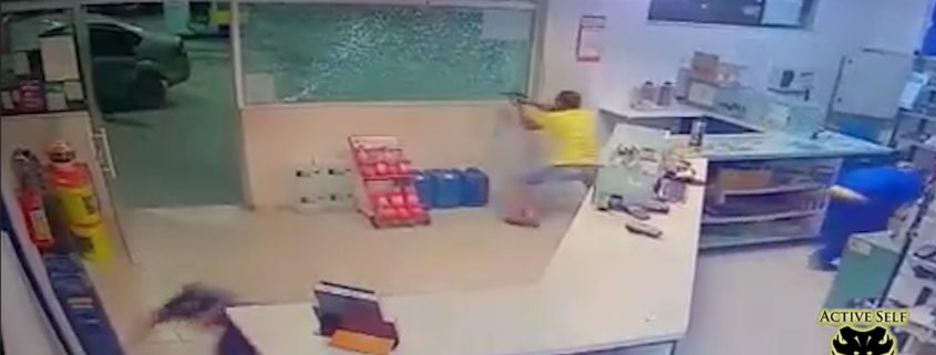 Armed Defender Makes Armed Robbers Pay